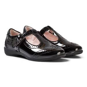 Lelli Kelly Girls Shoes Black Jennette Black Patent T-Bar Shoes