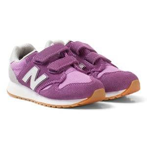 New Balance Girls Sneakers Purple Purple and White 520 Sneakers