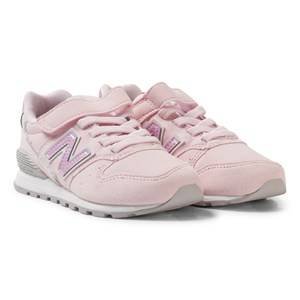 New Balance Girls Sneakers Pink Pink and Grey 996v2 Sneakers
