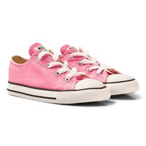 Converse Girls Sneakers Pink Pink All Star Infant Low Top Sneakers