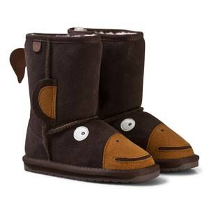 Emu Australia Unisex Boots Brown Little Creatures Monkey Boots