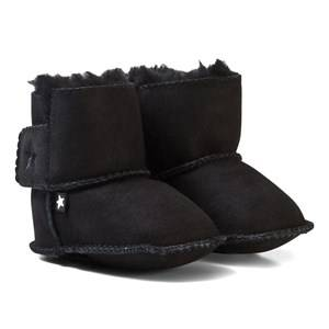 Molo Unisex Boots Black Dust Baby Shoes Black