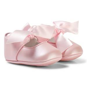 Mayoral Girls Shoes Pink Pink Bow Buckle Mary Janes