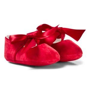 Mayoral Girls Shoes Red Red Bow Buckled Mary Janes