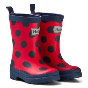 Hatley Unisex Boots Red Red Polka Dot Classic Rain Boots