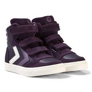 Hummel Unisex Sneakers Stadil Leather Jr Nightshade