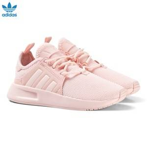 adidas Originals Girls Sneakers Pink Pink X PLR Kids Trainers