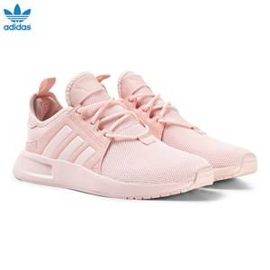 adidas Originals Girls Sneakers Pink Pink X PLR Junior Trainers