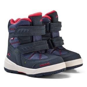 Viking Unisex Shoes Navy Toasty II Gtx Boots Navy/Red