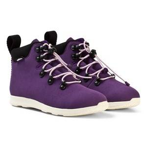 Native Girls Boots Purple Purple Apex Water Repellent Boots
