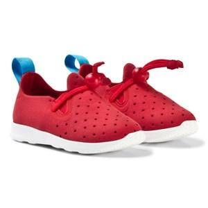 Native Unisex Sneakers Red Red Apollo Moc Trainers