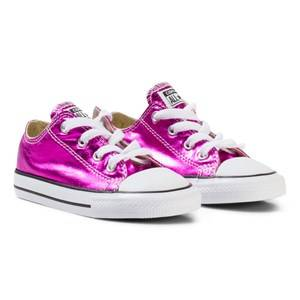 Converse Girls Sneakers Pink Chuck Taylor OX Sneakers Magenta Glow