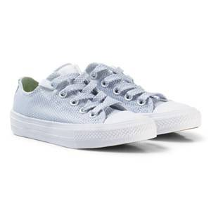 Converse Unisex Sneakers White White/Granite Chuck Taylor All Star II Junior Sneakers