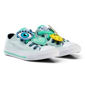 Converse Boys Sneakers Blue Blue Chuck Taylor All Star Emoji Energy Loophole Sneakers