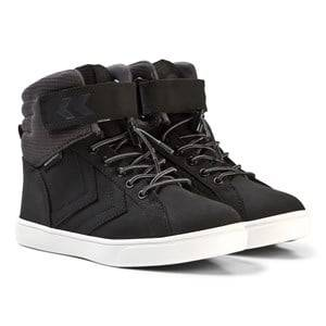 Hummel Unisex Sneakers Black Splash Mid Jr Black