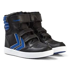 Hummel Unisex Sneakers Black Stadil Super Poly Boot Jr Limoges Blue
