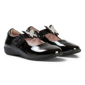 Lelli Kelly Girls Shoes Black Angel Dolly Black Patent Shoes