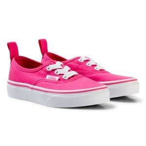 Vans Girls Sneakers Pink Authentic Elastic Lace Shoes Hot Pink