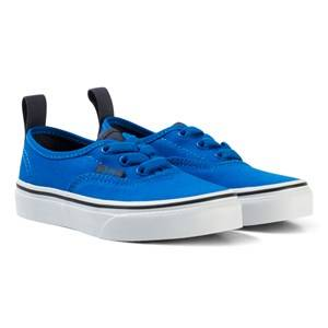 Vans Unisex Sneakers Blue Authentic Elastic Lace Shoes Imperial Blue