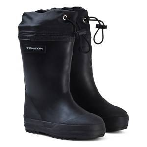 Tenson Unisex Boots Black Muggy Lined Wellies Black