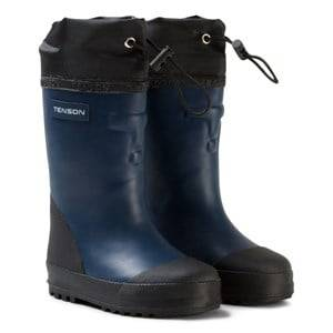 Tenson Unisex Boots Blue Muggy Lined Wellies Blue