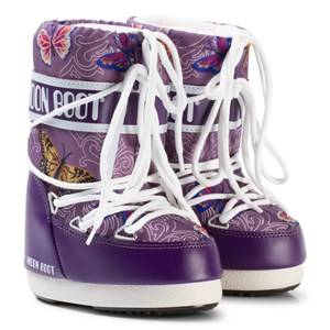 Moon Boot Unisex Boots Purple Moon Boot Butterfly Violet
