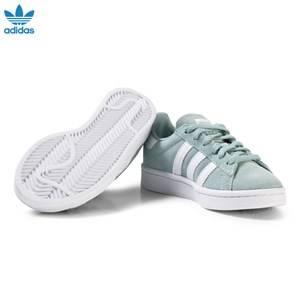 adidas Originals Boys Sneakers Green Green Kids Campus Trainers