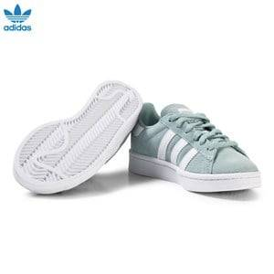 adidas Originals Boys Sneakers Green Kids Campus Trainers