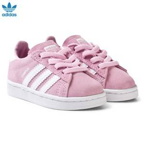 adidas Originals Girls Sneakers Pink Pink Infant Campus Trainers