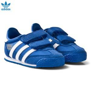 adidas Originals Boys Sneakers Blue Blue and White Dragon Infant Trainers