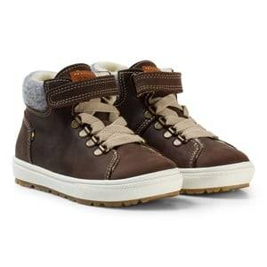 Kavat Unisex Sneakers Brown Borggård EP Winter Boots Dark Brown