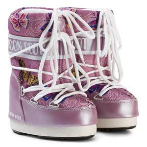 Moon Boot Unisex Boots Purple Moon Boot Butterfly Lilac