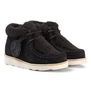 Young Soles Unisex Shoes Black Joey Wallabee Boots Black