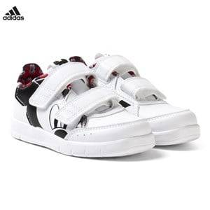 adidas Performance Boys Sneakers White Disney Micky Mouse AltaSport Infants Velcro Trainers