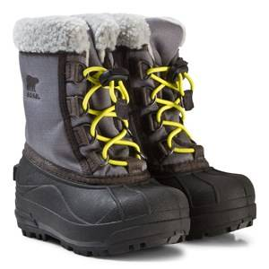 Sorel Unisex Boots Grey Childrens Cumberland City Grey