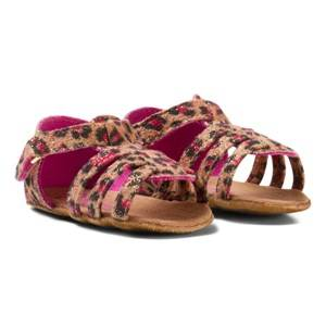 Juicy Couture Girls Sandals Brown Brown Sandals Leo