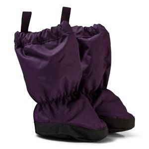 Reima Girls Shoes Purple Booties Antura Deep Violet