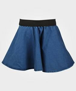 The BRAND Girls Childrens Clothes Skirts Blue Vipp Skirt Denim Blue