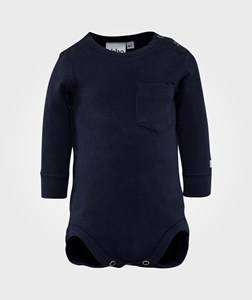 eBBe Kids Unisex Childrens Clothes All in ones Blue Emmet Baby Body Navy