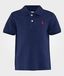 Ralph Lauren Boys Childrens Clothes Tops Blue Classic Polo French Navy