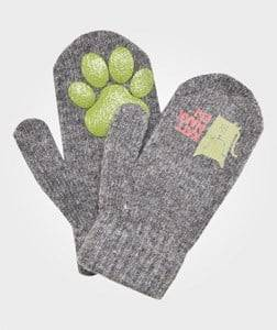 Kattnakken Unisex Childrens Clothes Gloves and mittens Grey Magic Wool Mittens