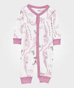 Joha Girls Childrens Clothes All in ones Pink Arctic Zone Baby One-Piece Pink Multi