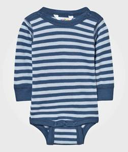 Joha Unisex Childrens Clothes All in ones Blue Striped Baby Body Blue