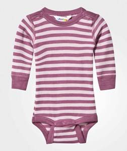Joha Girls Childrens Clothes All in ones Pink Striped Baby Body Pink