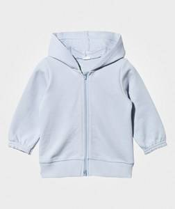 United Colors of Benetton Unisex Childrens Clothes Jumpers and knitwear Blue Hooded Bear Jacket Blue