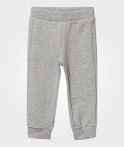 United Colors of Benetton Boys Childrens Clothes Bottoms Grey Basic Jersey Joggers Grey Melange