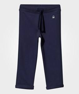 United Colors of Benetton Girls Childrens Clothes Bottoms Navy Basic Sweatpants Navy