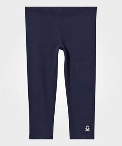 United Colors of Benetton Girls Childrens Clothes Bottoms Navy Leggings Navy