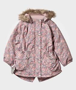 Wheat Unisex Childrens Clothes Coats and jackets Multi Emmely Jacket Flower