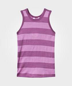 Joha Girls Childrens Clothes Underwear Pink Tank Top Block Stripe Pink